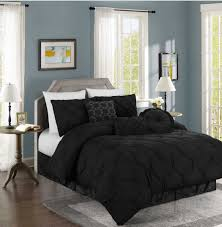 Bed Comforter Set by Chezmoi Collection Sydney 7 Piece Pintuck Bedding Comforter Set