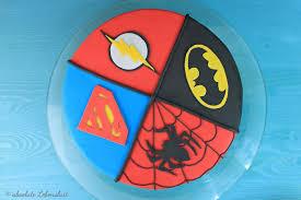 comic superhelden torte backen fondant motivtorte selber