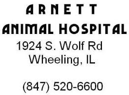 arnett animal hospital arnett animal hospital 1924 s wolf rd wheeling il animal