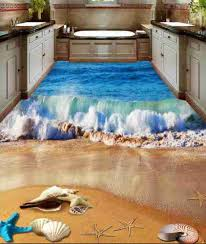 3D Beach Epoxy Flooring