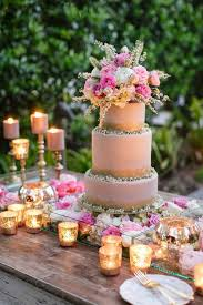 Pretty Rustic Wedding Cake Ideas