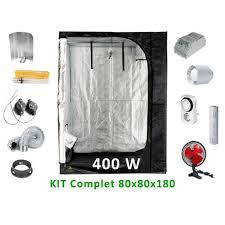 kit chambre culture kit de culture complet 400w 80 cm achat vente chambre de