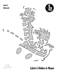 Easy Mermaid Pumpkin Stencil by Calvin And Hobbes Pumpkin Carving Templates Engineering And