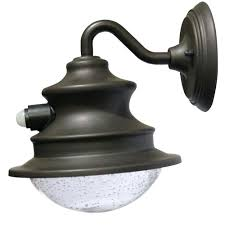 solar powered wall mounted lights outdoor lighting barn brown