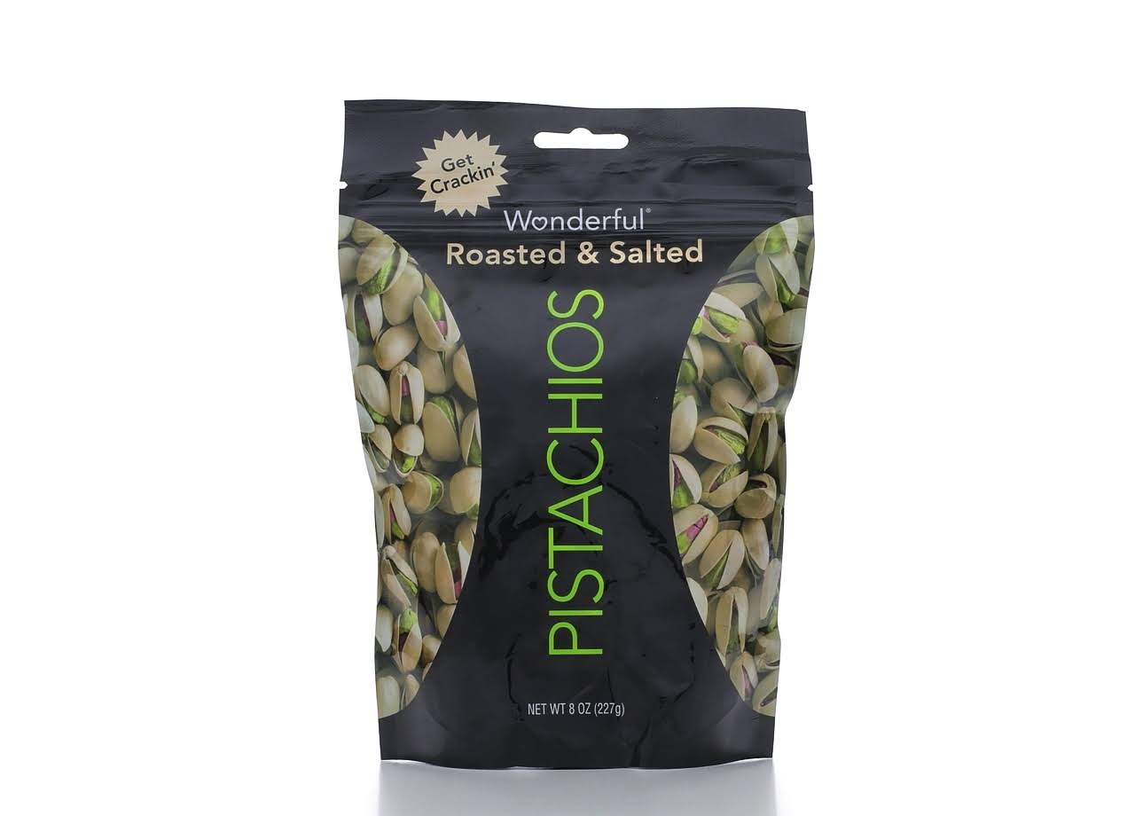 Wonderful Roasted & Salted Pistachios - 227g