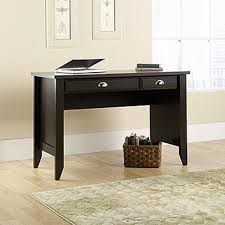 Sauder Shoal Creek Dresser Instructions by Sauder Shoal Creek Jamocha Wood Desk 411961 The Home Depot