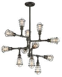 House Of Troy Piano Lamps by Troy Lighting F3817 Conduit Collection Chandelier Transitional