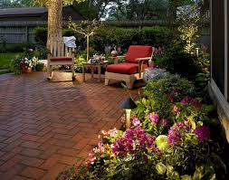 Backyard Landscaping Ideas For Naturalistic Nuance - Designoursign Contemporary Backyard Ideas Round Fire Pit And Concrete Patio For 94 Best Garden Ideas Images On Pinterest Small Garden Design Best 25 Modern Backyard Landscape Backyards Wonderful Design 15 Landscaping Home Contemporary Plants For Archives A Few Handy Tips Fniture