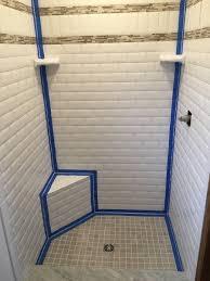 avoid cracked grout caulk tile shower corners angie s list