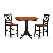 East West Furniture Trenton 3 Piece Cross-And-Ladder Dining Table ... Homeofficedecoration Outdoor Bar Height Bistro Sets Rectangle Table Most Splendiferous Pub Industrial Stools 4339841 In By Hillsdale Fniture Loganville Ga Lannis Stylish Pub Tables And Chairs For You Blogbeen Paris Cast Alinum Are Not Counter Set Home Design Ideas Kitchen Interior 3 Piece Kitchen Table Set High Top Tyres2c 5pc Cinnamon Brown Hardwood Arlenes Agio Aas 14409 01915 Fair Oaks 3pc Balcony Tall Nantucket 5piece At Gardnerwhite Wonderful 18 Belham Living Wrought Iron