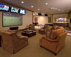 Man Cave Basement Designs With goodly Best Ideas About Basement