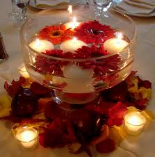 Wedding Centerpiece Ideas Floating Candles