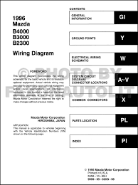 100 1994 Mazda Truck Diagram Of B2300 Wiring Diagram