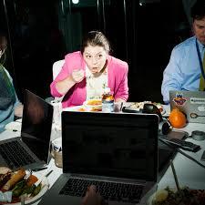 dejeuner bureau la tristesse et l esthétique du déjeuner au bureau