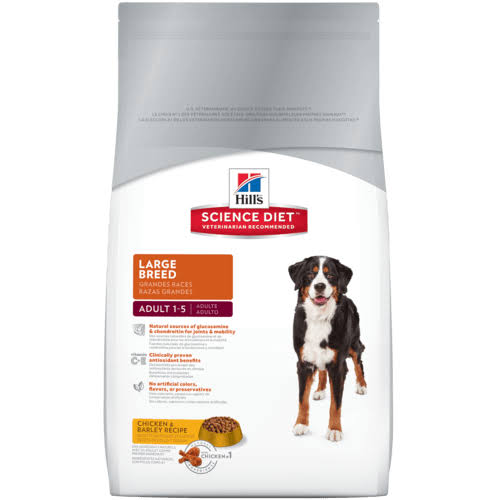 Science Diet Science Diet Dog Food, Premium, Chicken & Barley Recipe, Large Breed Adult 1-5 - 35 lb