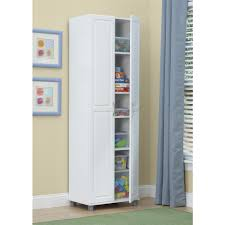 White Storage Cabinets At Home Depot by Systembuild Kendall White Storage Cabinet 7362401pcom The Home Depot