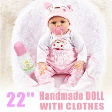 Buy Silicone Baby Dolls And Get Free Shipping On AliExpresscom