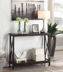 Sofa Tables At Walmart by Amazon Com Convenience Concepts Oxford Console Table Espresso