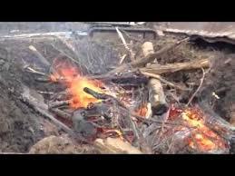 Air Curtain Destructor Burning by Air Curtain Pit Burner 2 Youtube