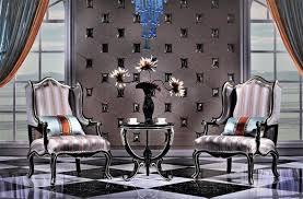 wohnzimmer sitz garnitur 2x königliche sessel ohrensessel beistelltisch barock