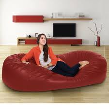 Real Leather Sofa Bed Bean Bag Top 10 Bean Bag Chairs Of 2019 Video Review Attractive Young Woman Lying On Red Square Shaped Beanbag Sofa Slab Red 3 Sizes Candy Chair Us 2242 41 Offlevmoon Medium Camouflage Beanbags Kids Bed For Sleeping Portable Folding Child Seat Sofa Zac Without The Fillerin Real Leather Modern Style Futon Couch Sleeper Lounge Sleep Dorm Hotel Beans Velvet Plain Collection Yogibo Family Fun Fniture 17 Best To Consider For Your Living