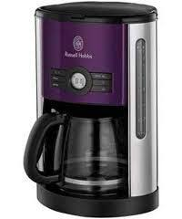 Black And Purple Coffee Maker
