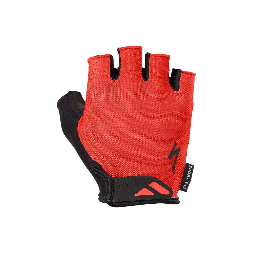 Specialized BG Sport Gel Gloves - Red - Large