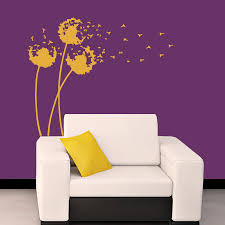 Wall Mural Decals Cheap by Wall Anime Fathead Wall Mural Decal Dandelion Wall Decal
