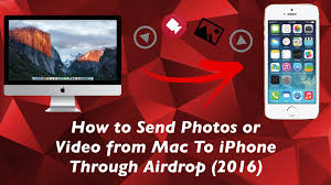 How To Send s or Video From Mac to Iphone Through Airdrop