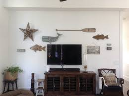 Wall Decor Around Mounted TV