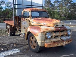 100 One Ton Truck Rusty Old 1951 Ford F4 1 Ton Truck Image Paul Leader A Flickr