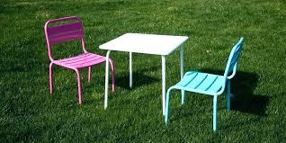 chaise de jardin enfant chaise exterieur enfant table et chaise jardin enfant table