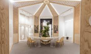 100 Blooming House Exhibition Space Designed By VXLAB Creative