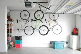Ceiling Bike Rack Diy by Hang Bikes In The Garage Check Dream Green Diy