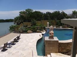 how is your travertine pool deck holding up