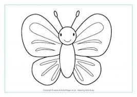 Butterfly Colouring Pages Interest Color