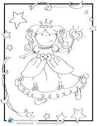 Fancy Free Printable Princess Coloring