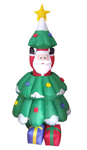 Prelit Christmas Tree Self Rising by Santa Claus Outdoor Inflatables Page Two Christmas Wikii