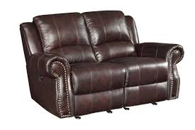 Wildon Home  Leather Motion Reclining Loveseat & Reviews