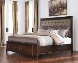 Nobby Design Ashley Furniture Porter Bedroom Set Kingsize Sleigh