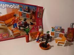 playmobil 5332 behagliches wohnzimmer vollständig mit