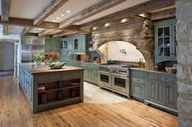 Exotic Coloring Cabinets Decorating Farmhouse Kitchen Design