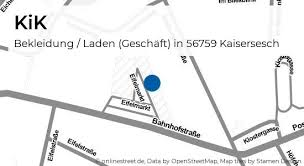 kik bahnhofstraße in kaisersesch bekleidung laden geschäft