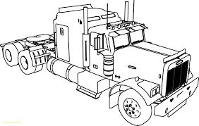 Trucks Coloring Pages 2 B Semi Truck With Peterbilt Unique Printable ...
