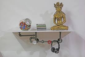 wand regale industriedesign regale küchenregal wohnzimmer