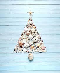 Seashell Christmas Tree Garland shell christmas tree beach life anchored escapes mini starfish