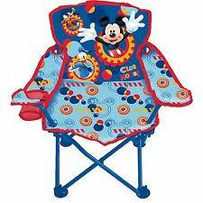 disney mickey chair mouse foldable mini saucer kids children