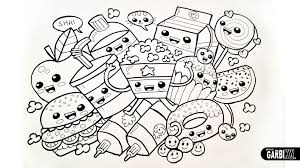 Sushi Para Colorear Kawaii Sushi Kawaii Para Colorear Dibujos Kawaii