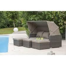 canap de jardin en r sine beautiful fauteuil salon de jardin resine tressee gallery design