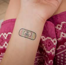 Motivational Temporary Tattoos
